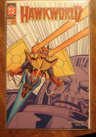 Hawkworld #19 comic book - DC Comics