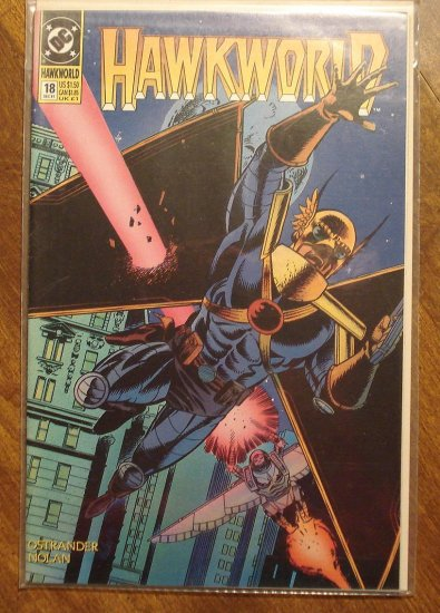 Hawkworld #18 comic book - DC Comics