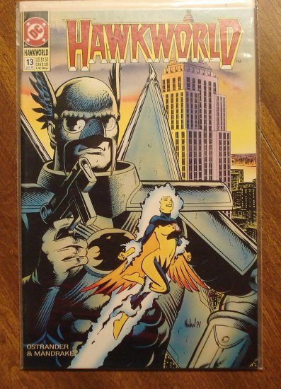 Hawkworld #13 comic book - DC Comics