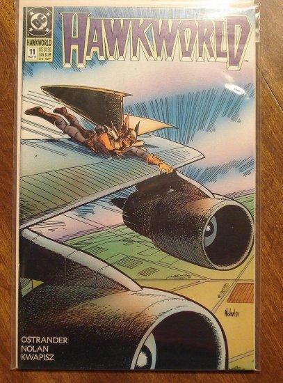 Hawkworld #11 comic book - DC Comics