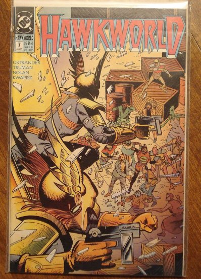 Hawkworld #7 comic book - DC Comics