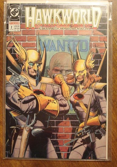 Hawkworld #2 comic book - DC Comics