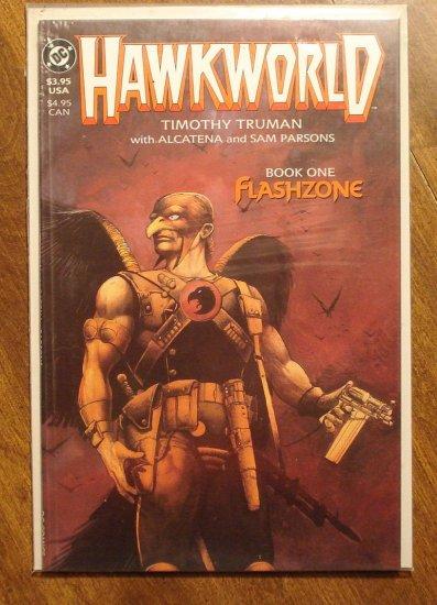 Hawkworld deluxe format mini series #1 comic book - DC Comics - Tim Truman