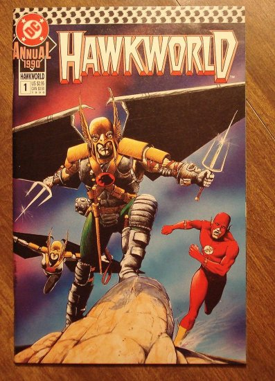 Hawkworld Annual #1 comic book - DC Comics