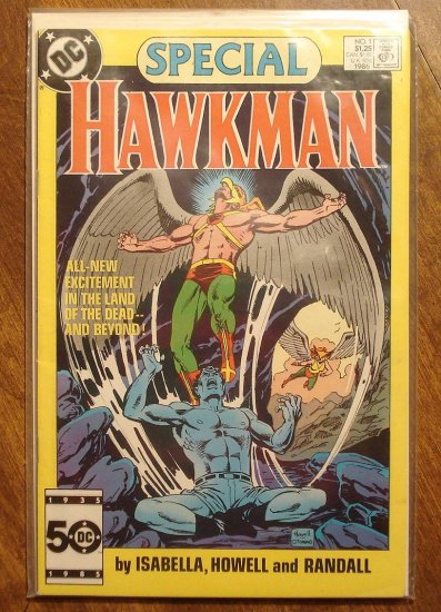 Hawkman Special #1 (1986) comic book - DC Comics