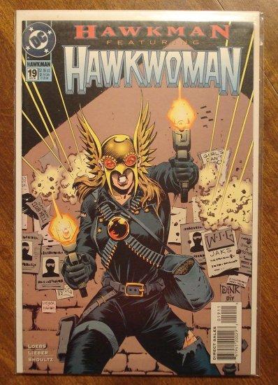 Hawkman #19 (1990's) comic book - DC Comics