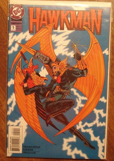 Hawkman #5 (1990's) comic book - DC Comics