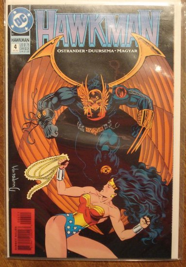 Hawkman #4 (1990's) comic book - DC Comics