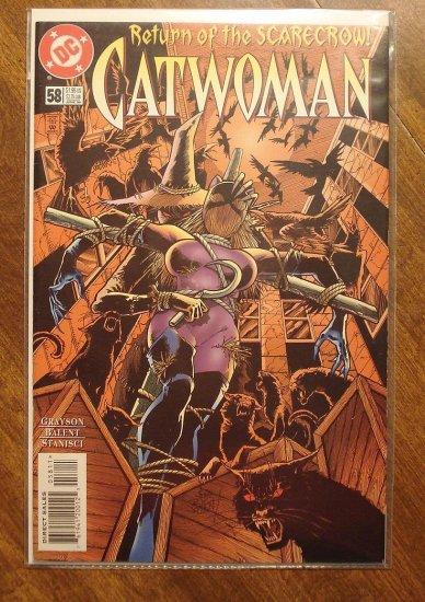 Catwoman #58 comic book - DC Comics
