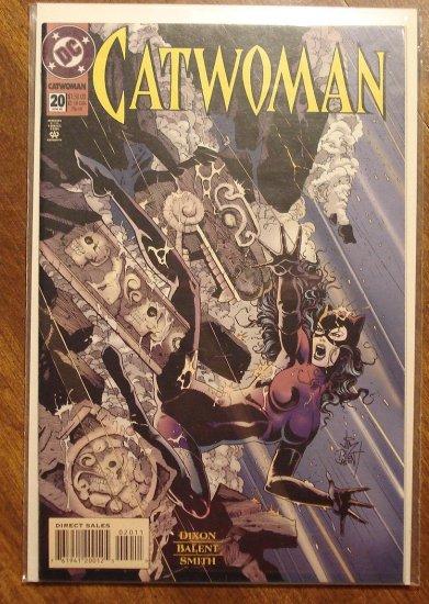 Catwoman #20 comic book - DC Comics
