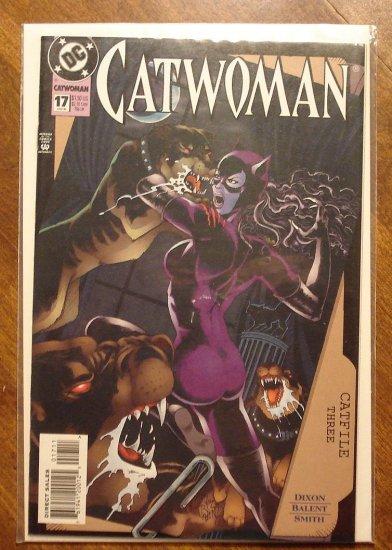 Catwoman #17 comic book - DC Comics