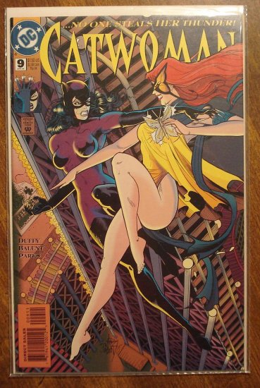 Catwoman #9 comic book - DC Comics