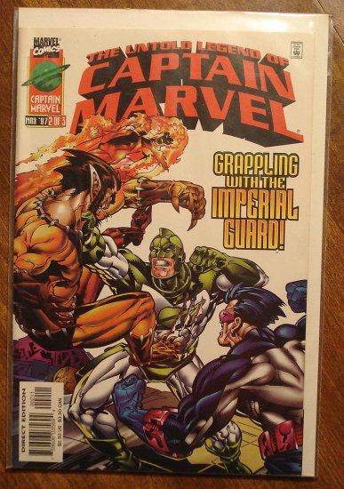 The Untold Legend of Captain Marvel #2 comic book - Marvel comics