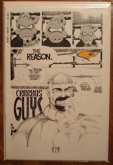 Cerebus #210 comic book - Dave Sim - Aardvark-Vanaheim
