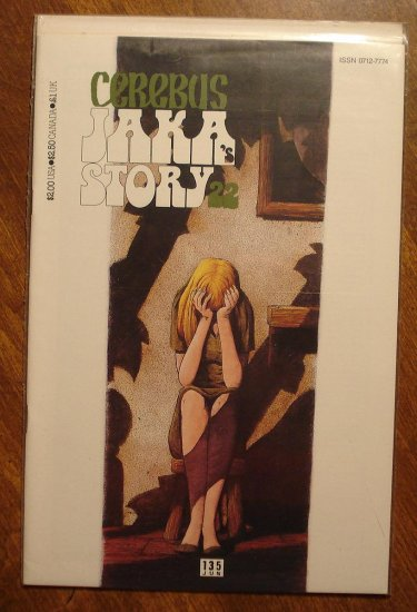 Cerebus #135 comic book - Dave Sim - Aardvark-Vanaheim