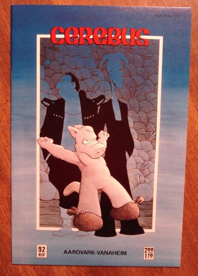 Cerebus #92 comic book - Dave Sim - Aardvark-Vanaheim