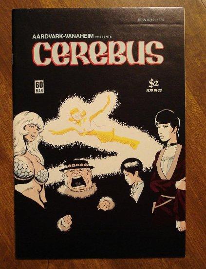 Cerebus #60 comic book - Dave Sim - Aardvark-Vanaheim