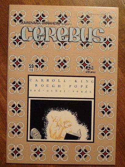 Cerebus #59 comic book - Dave Sim - Aardvark-Vanaheim