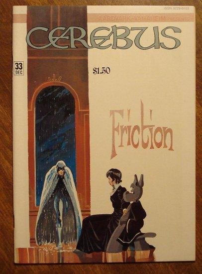 Cerebus #33 comic book - Dave Sim - Aardvark-Vanaheim