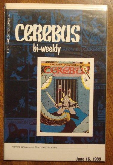 Cerebus Bi-Weekly (reprint series) #15 comic book - Dave Sim - Aardvark-Vanaheim