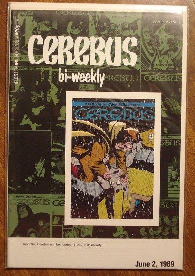 Cerebus Bi-Weekly (reprint series) #14 comic book - Dave Sim - Aardvark-Vanaheim