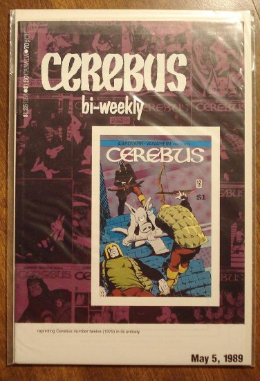Cerebus Bi-Weekly (reprint series) #12 comic book - Dave Sim - Aardvark-Vanaheim