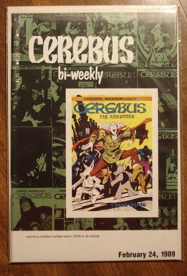 Cerebus Bi-Weekly (reprint series) #7 comic book - Dave Sim - Aardvark-Vanaheim