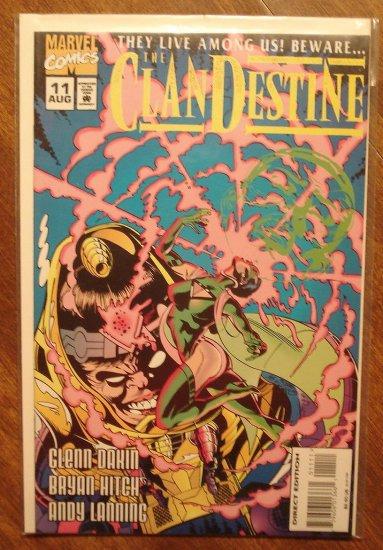 Clandestine #11 comic book - Marvel comics