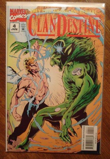 Clandestine #4 comic book - Marvel comics