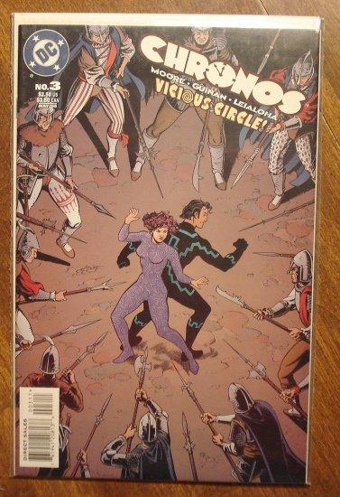 Chronos #3 comic book - DC comics