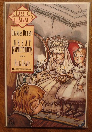 Classics Illustrated: Great Expectations by Charles Dickens comic book - First Comics