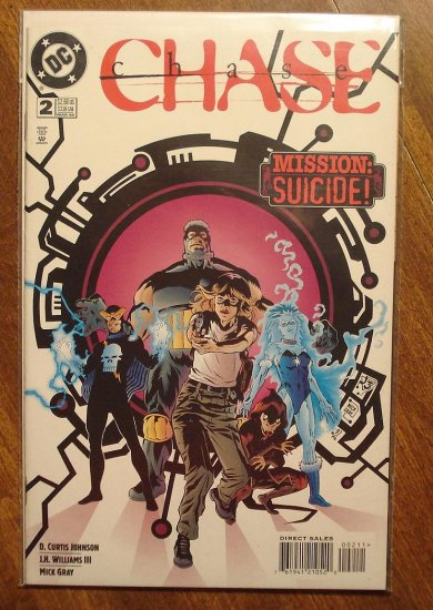 Chase #2 comic book - DC comics