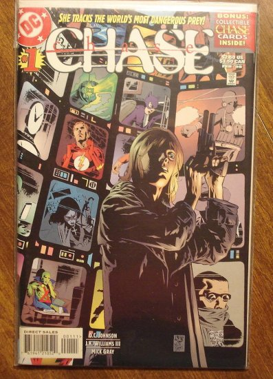 Chase #1 comic book - DC comics