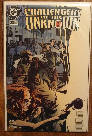 Challengers of the Unknown #3 (1997) comic book - DC Comics
