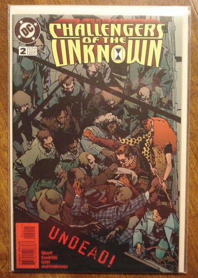 Challengers of the Unknown #2 (1997) comic book - DC Comics