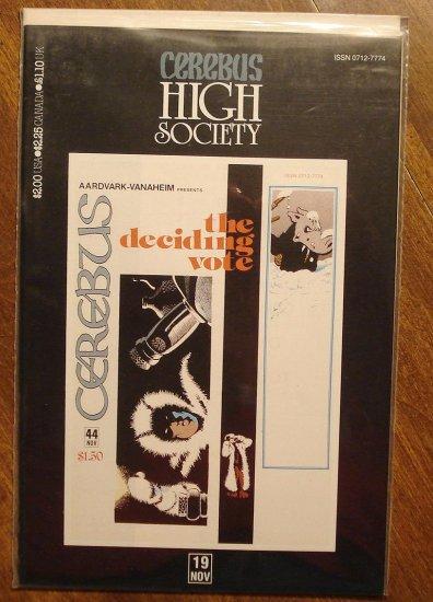 Cerebus - High Society (reprint series) #19 comic book - Dave Sim - Aardvark-Vanaheim