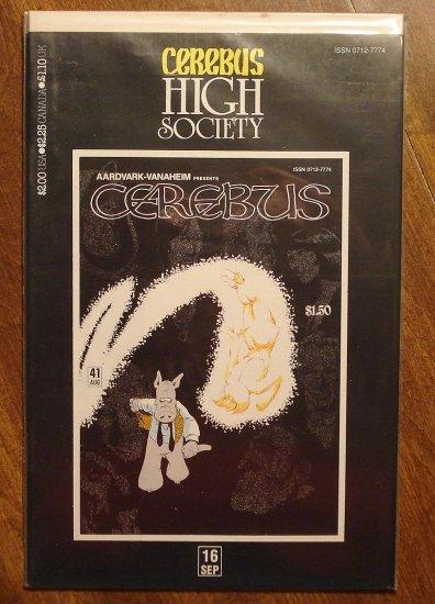 Cerebus - High Society (reprint series) #16 comic book - Dave Sim - Aardvark-Vanaheim
