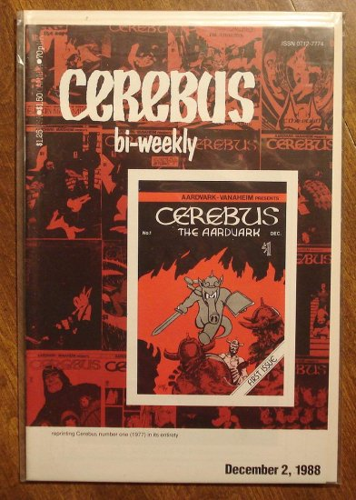 Cerebus Bi-Weekly (reprint series) #1 comic book - Dave Sim - Aardvark-Vanaheim