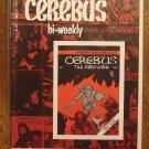 Cerebus Bi-Weekly (reprint series) #1 comic book - Dave Sim - Aardvark-Vanaheim