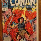 Conan The Barbarian #205 comic book - Marvel comics