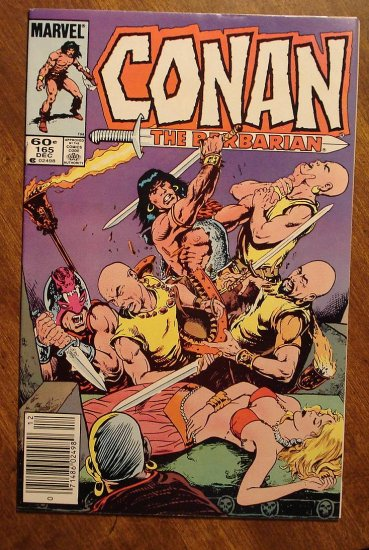 Conan The Barbarian #165 comic book - Marvel comics
