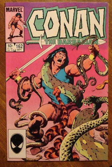Conan The Barbarian #162 comic book - Marvel comics