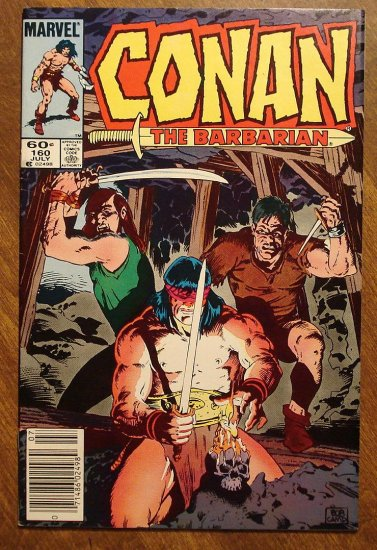 Conan The Barbarian #160 comic book - Marvel comics
