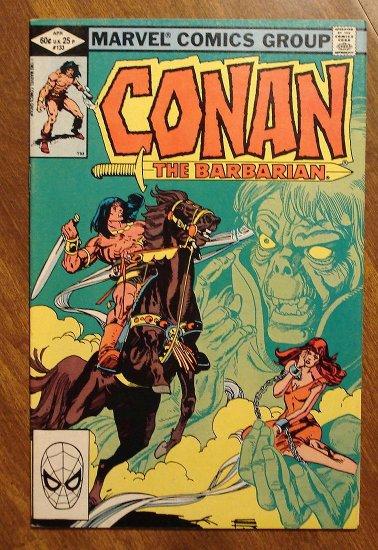 Conan The Barbarian #133 comic book - Marvel comics
