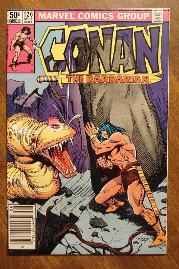 Conan The Barbarian #126 comic book - Marvel comics