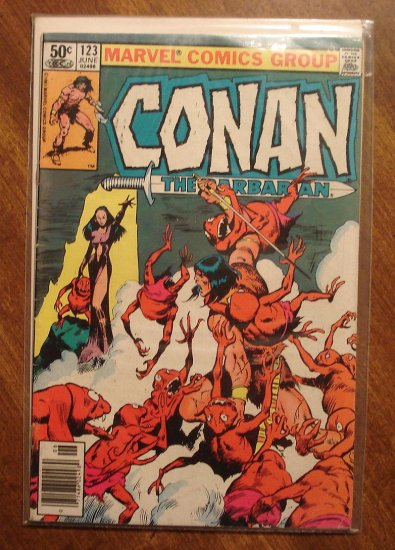 Conan The Barbarian #123 VG comic book - Marvel comics