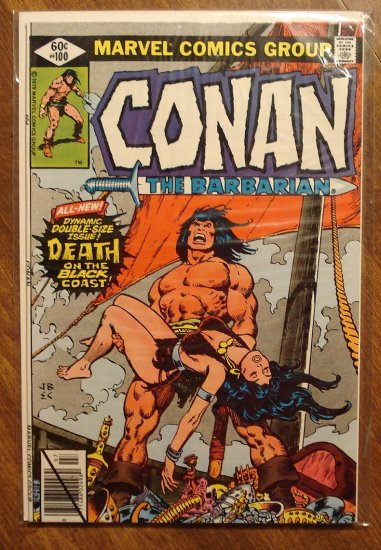 Conan The Barbarian #100 comic book - Marvel comics
