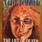 Clive Barker: The Life of Death graphic novel comic book - Eclipse comics