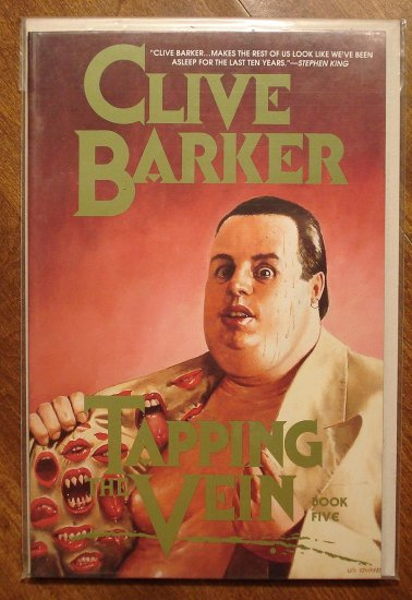 Clive Barker: Tapping The Vein #5 deluxe format comic book - Eclipse comics