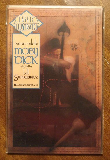 Classics Illustrated: Moby Dick by Herman Melville comic book - First Comics